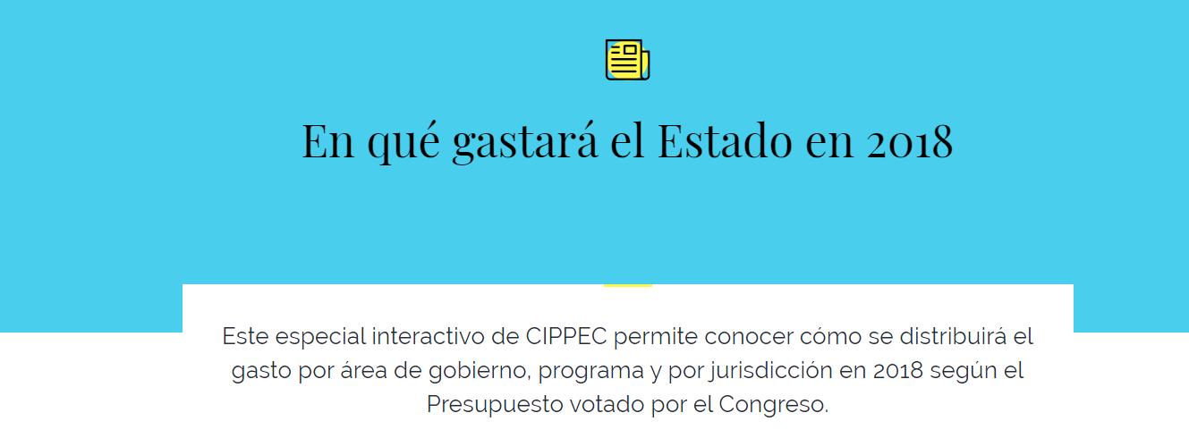 CIPPEC: Presupuesto 2018